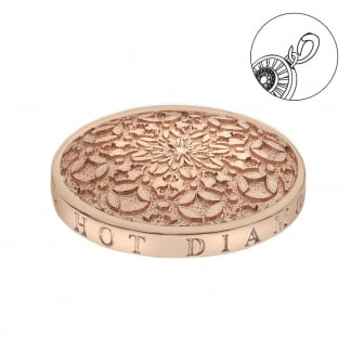 25mm Mystic Map Coin in Rose Gold
