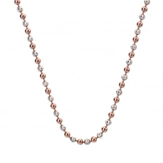 45cm Two Tone Necklace