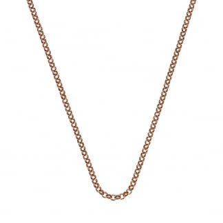 61cm Rose Gold Belcher Chain