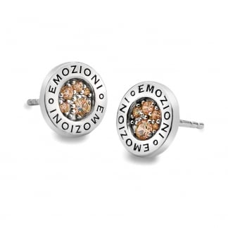 Champagne Loyalty Earring Studs