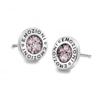 Pink Compassion Earring Studs