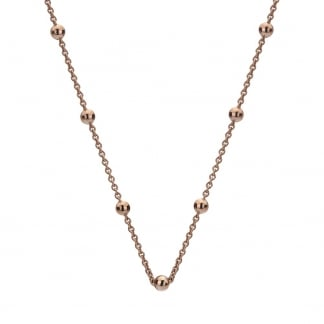 Rose Gold 45cm Bead Chain