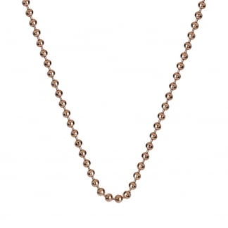 Rose Gold 61cm Belcher Chain