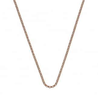 Rose Gold 76cm Belcher Chain