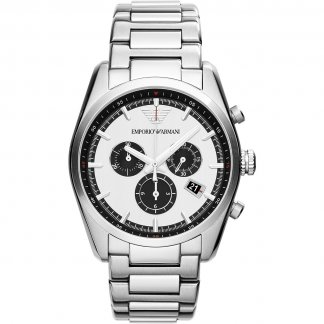 Gent's Steel Chronograph Watch