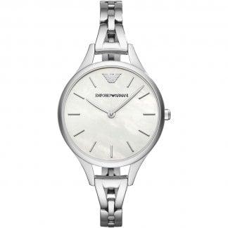 be6dd8c45b2a Ladies Aurora Mother of Pearl Bracelet Watch · Emporio Armani ...