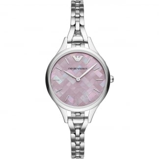 Ladies Aurora Pink Mosaic Bracelet Watch