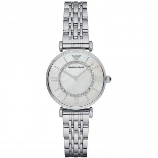 Ladies Mother of Pearl T-Bar Watch AR1908