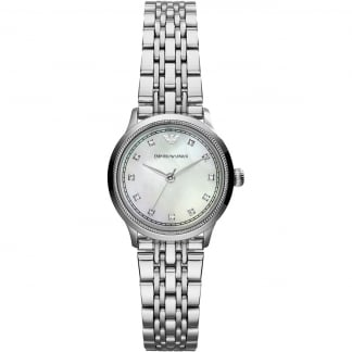 Ladies Silver Tone Classic Watch AR1803
