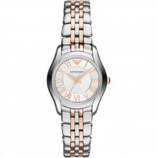 Ladies Steel & Rose Gold Bracelet Watch AR1825