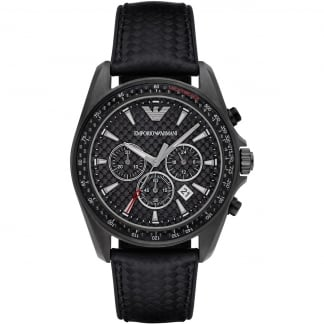Men's Sport Gunmetal Chronograph Watch