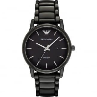 Men's Ceramica Black Ceramic Bracelet Watch AR1508