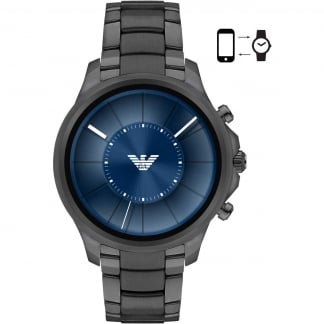 Men's Connected Gunmetal Touchscreen Smartwatch