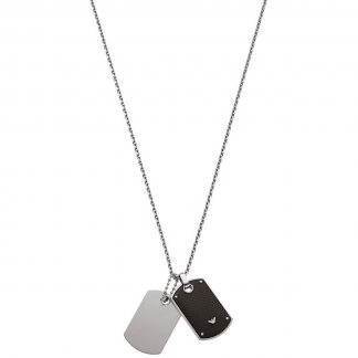 Men's Double DogTag Necklace