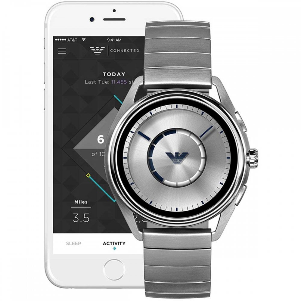 6ce50e404 Emporio Armani Men's Matteo Connected Touchscreen Smartwatch Product Code:  ART5006