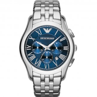 Men's Signature Blue Chronograph Dial Watch
