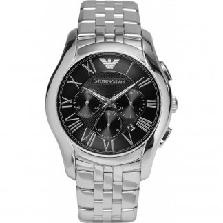 Men's Stainless Steel Chronograph Watch