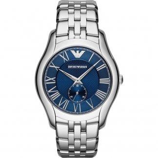 Men's Steel Bracelet Watch with Blue Dial AR1789