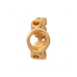 Bubbles Gold Charm E25302