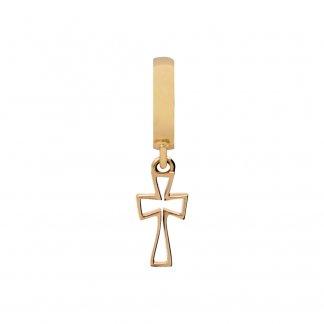 Cross Gold Charm E35255