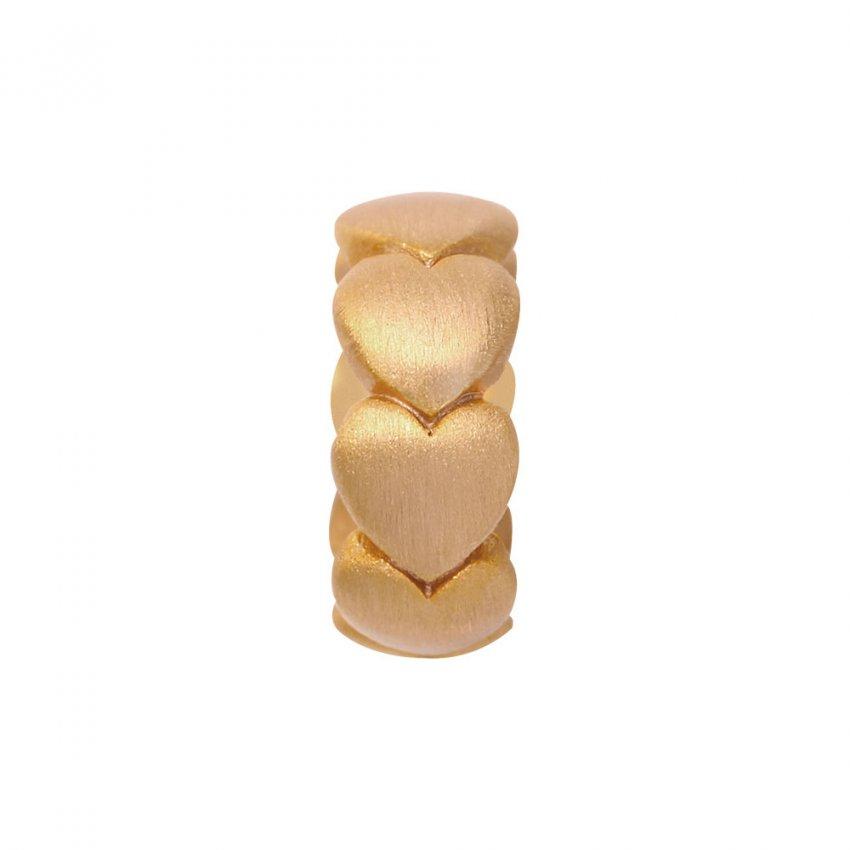 Endless Hearts Gold Charm E25301
