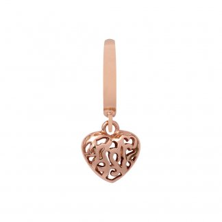 Hearts in Hearts Rose Gold Charm E37251