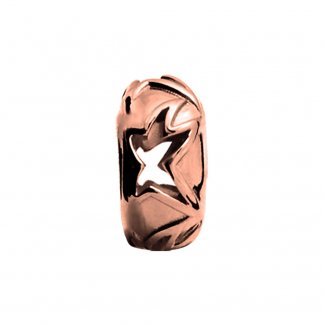 Shooting Star Rose Gold Charm E27303