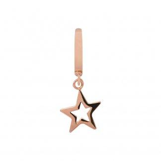 Star Rose Gold Charm E37200
