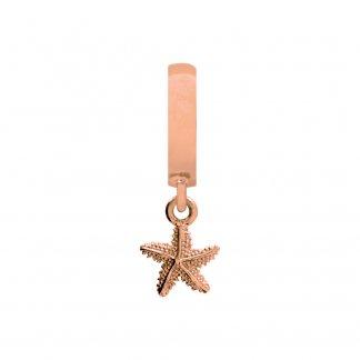 Starfish Rose Gold Charm E37202