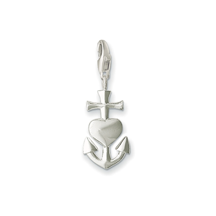 Thomas Sabo Faith, Love, Hope Charm 0083-001-12