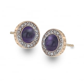 Fantasy Giovi Purple Stone Earrings
