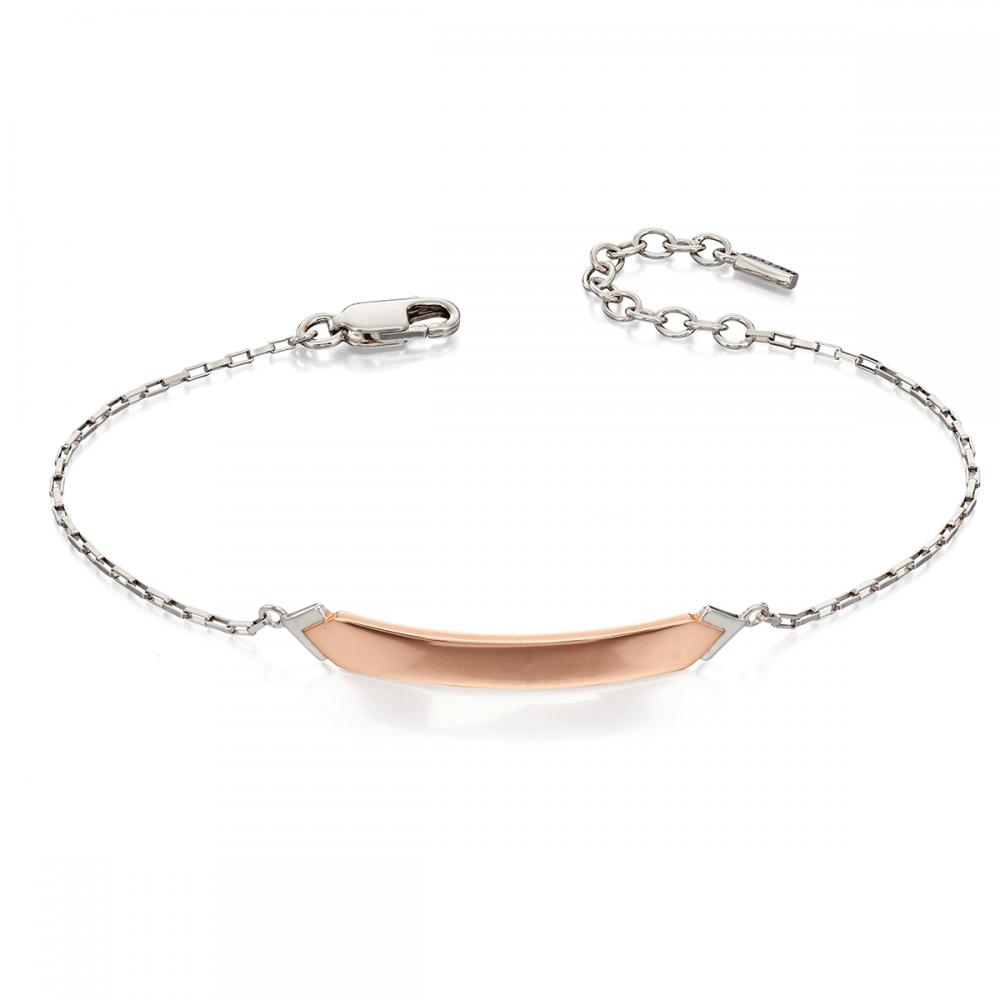 Fiorelli Rose Gold ID Bar Bracelet - Jewellery from Francis   Gaye ... 0778f2f311