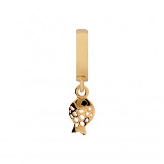 Fish of the Sea Gold Charm
