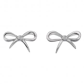 Silver Flourish Earrings DE346