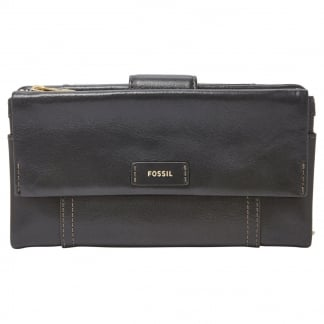 Black Ellis Clutch Purse