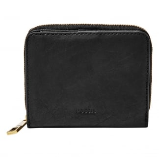 Black Emma RFID Mini Multifunction Purse
