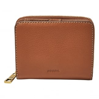 Brown Emma RFID Mini Multifunction Purse