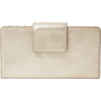 Hellgold Metallic Emma RFID Tab Clutch Purse