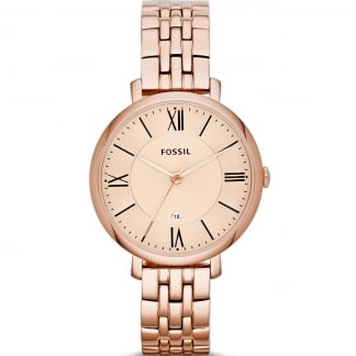 Ladies Jacqueline Rose Gold Watch