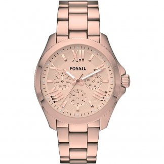 Ladies Rose Gold Plated Cecile Watch AM4511