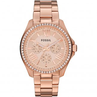 Ladies Rose Gold Tone Cecile Watch AM4483