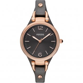 Ladies Rose Gold Tone Georgia Watch ES3077