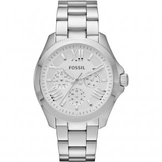 Ladies Silver Tone Cecile Multifunction Watch AM4509
