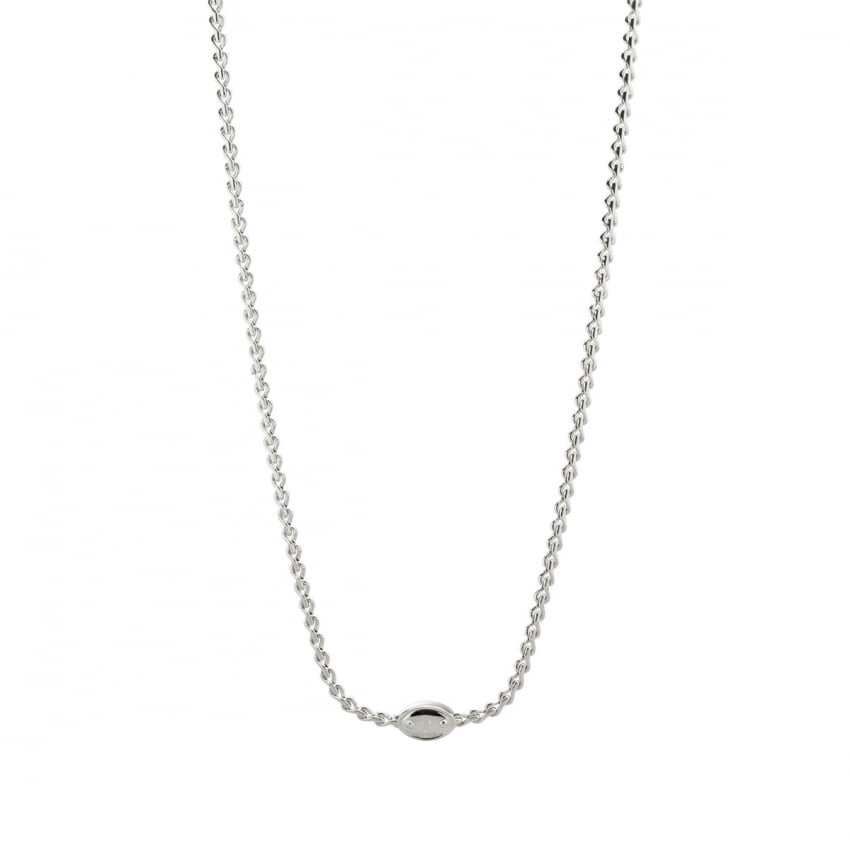 Fossil Ladies Stainless Steel Curbed Chain JA5712040