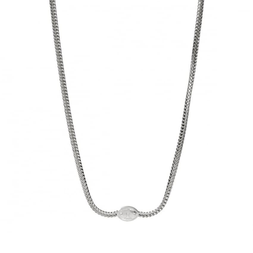 Fossil Ladies Stainless Steel Foxtail Chain JA5717040