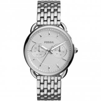 Ladies Tailor Stainless Steel Day/Date Watch ES3712