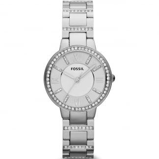 Ladies Virginia Stone Set Steel Watch ES3282