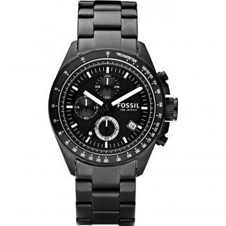 Men's Functional Black PVD Steel Decker Watch CH2601
