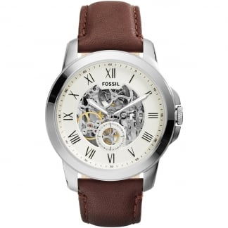 Men's Grant Automatic Skeleton Dial Watch ME3052