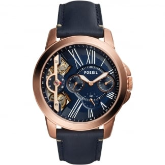 Men's Grant Rose Gold PVD Plated Automatic Watch